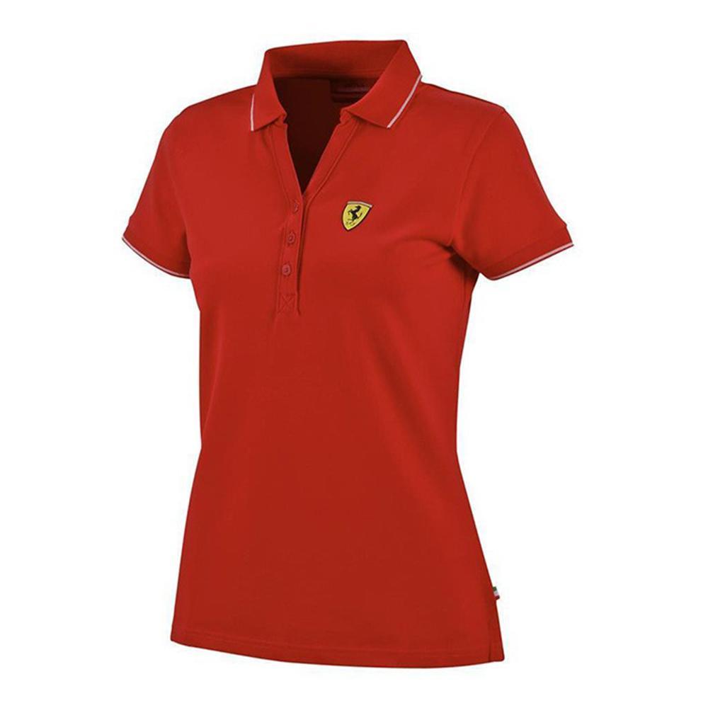 Scuderia Ferrari Classic Polo Ladies | Motorstore