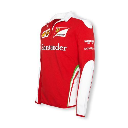 Scuderia Ferrari Team Half Zip Fleece Mens 2016   Motorstore