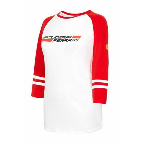 Scuderia Ferrari 3/4 Ls T-Shirt Ladies