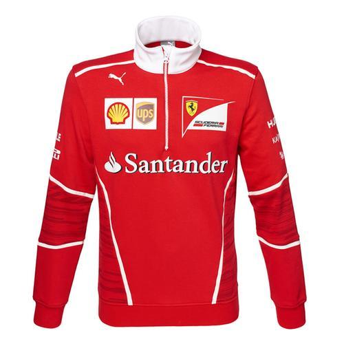 Scuderia Ferrari Team Half Zip Fleece 2017