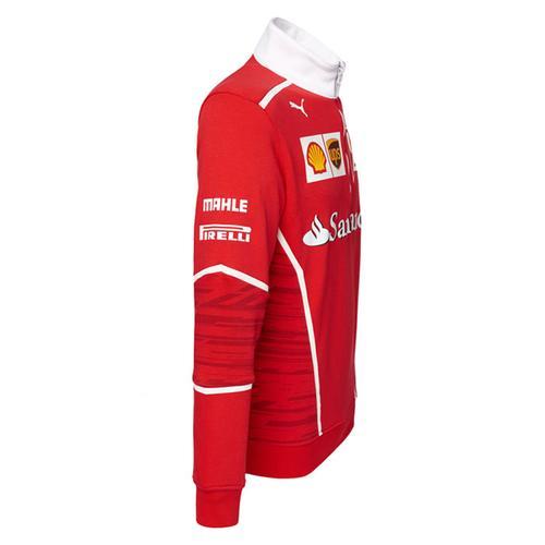 Scuderia Ferrari Team Half Zip Fleece 2017   Motorstore