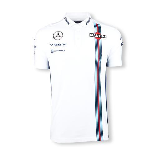 WILLIAMS MARTINI RACING PIQUE POLO    Motorstore F1 Team