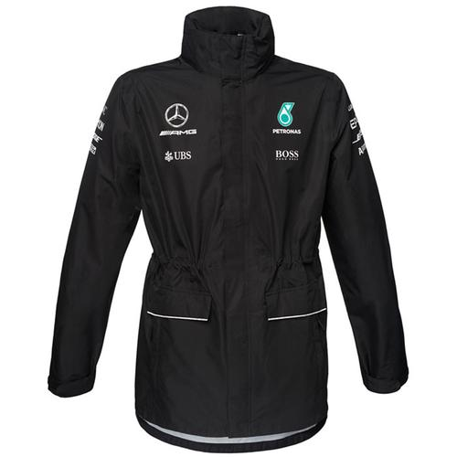 MERCEDES AMG PETRONAS TEAM RAIN JACKET 2017