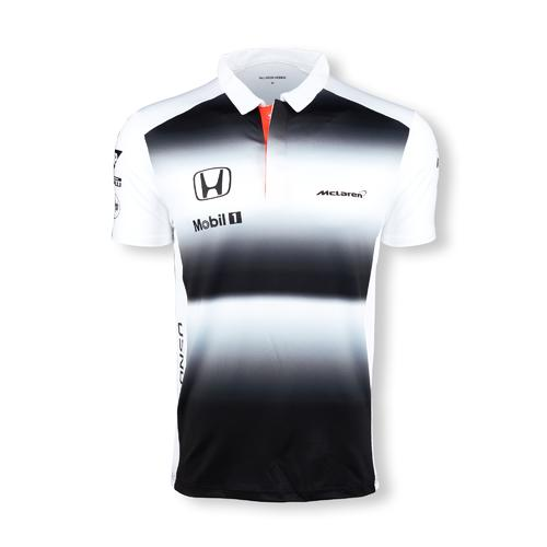 MCLAREN HONDA FERNANDO ALONSO POLO SHIRT MENS 2016 REPLICA