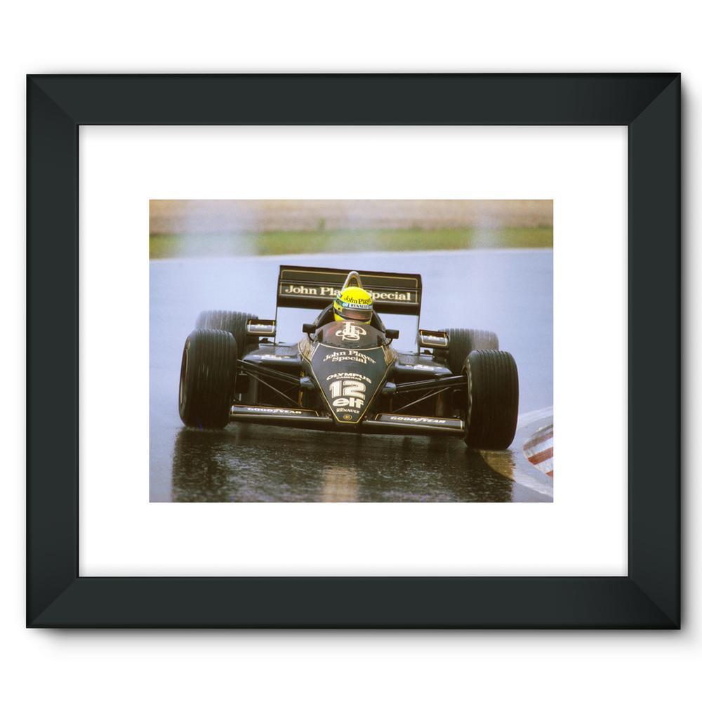 Ayrton Senna, Lotus 97T Renault | Motorstore Gallery