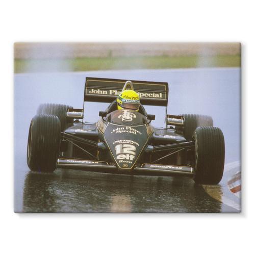 Ayrton Senna, Lotus 97T Renault, 1st position