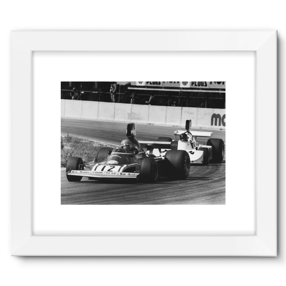 Niki Lauda AND James Hunt - 1974  | Motorstore Gallery