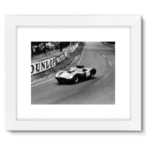 Dan Gurney/Jean Behra, Ferrari 250TR   White