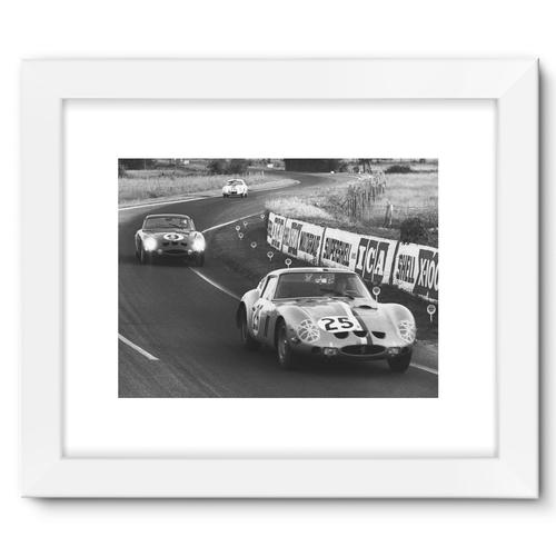 Le Mans, France. 15th - 16th June 1963 | White