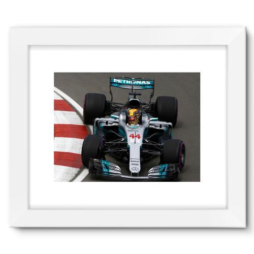 Lewis Hamilton, Mercedes AMG F1 W08   White
