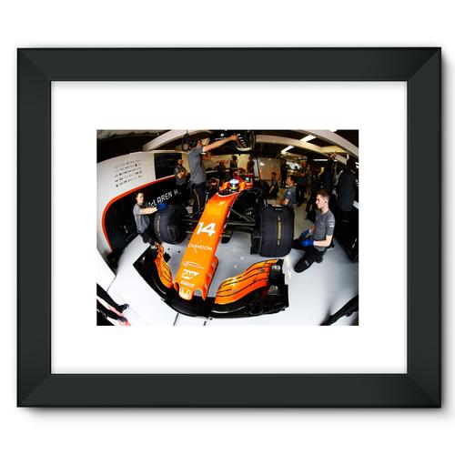 Fernando Alonso, McLaren MCL32 | Black